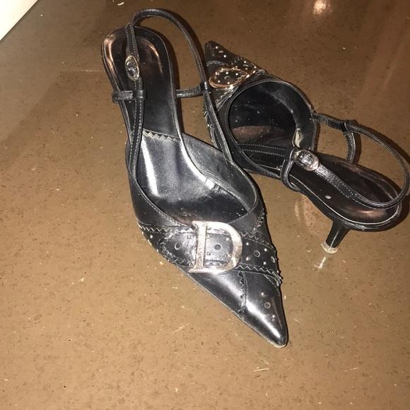 Vintage Dior Slingback Shoes | Poshmark